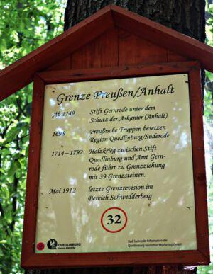 Grenze zwischen Preußen und Anhalt