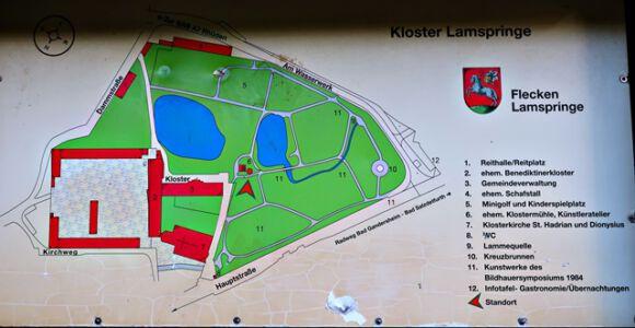 Übersichtsplan Kloster Lamspringe