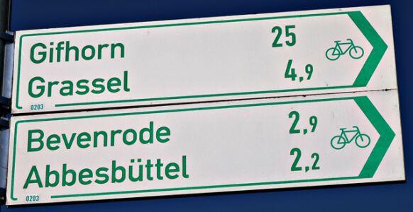 Fahrradweg nach Gifhorn