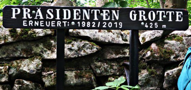 Präsdenten-Grotte