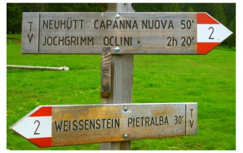 Von Deutschnofen nach Neuhütt
