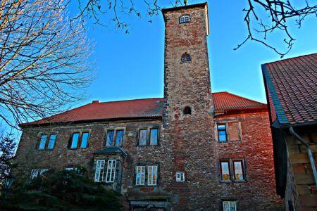 Burg Wiedelah - nun ein Wohnhaus
