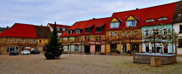 Marktplatz Freyburg
