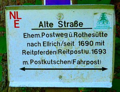 Ehemaliger Postweg