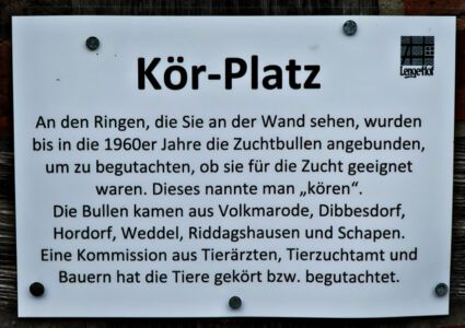 Lenges Hof: Der Kör-Platz