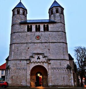 Die Stiftskirche von Bad Gandersheim