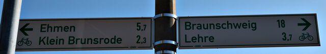 Fahrradweg Braunschweig - Wolfsburg