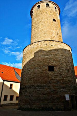 Der Bergfried der Haynsburg