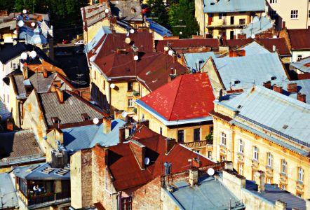 Lemberg: Blick Vom Rathausturm