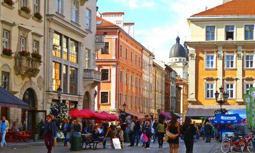 Lemberg: Marktplatz