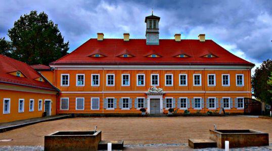 Das Jagdschloss Graupa