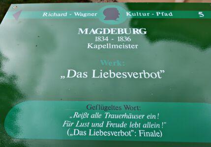 Kultur-Pfad in den Wagner-Stätten
