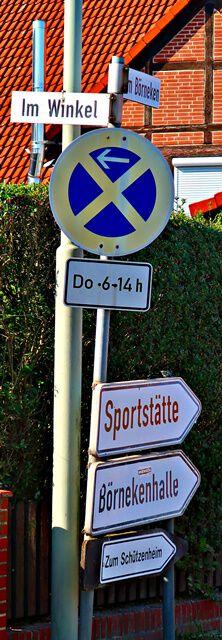 Fahrradweg nach Groß Brunsrode