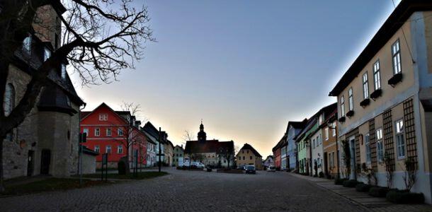 Marktplatz von Dornburg
