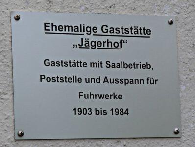 Ehemalige Gaststätte Jägerhof