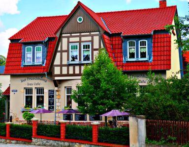 Das Café der Froschkönig
