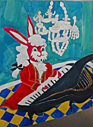 Mozart als Hase
