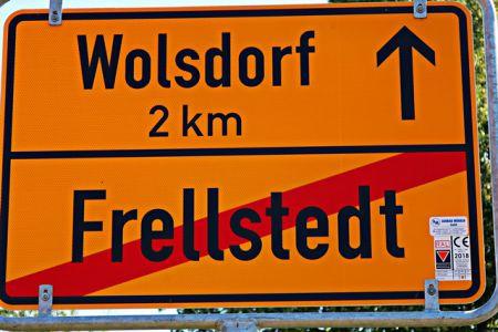 Frellstedt: Ortsausgang