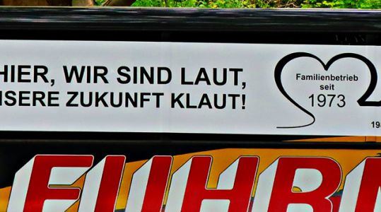 Bus-Demo in Hannover