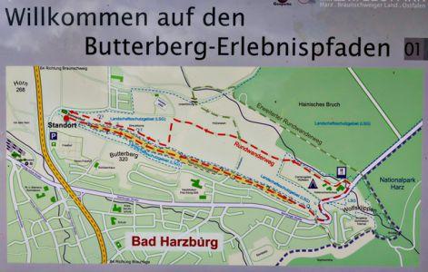 Butterberg-Erlebnispfade