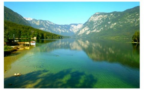 Der Bohinj See