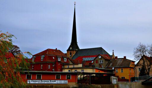 Kirche Camburg
