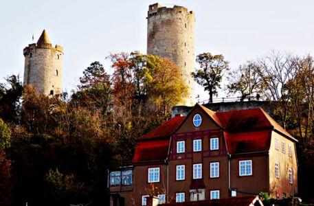 Die Burg Saaleck