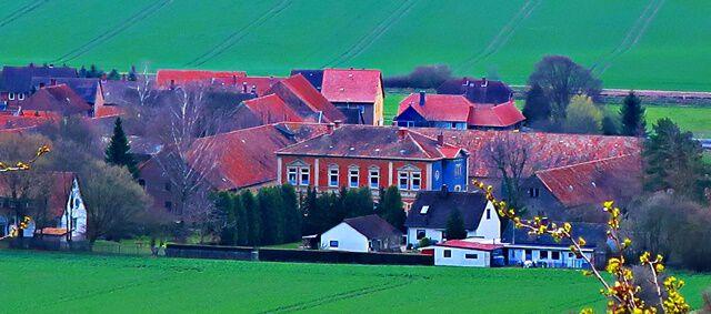 Blick auf Beierstedt