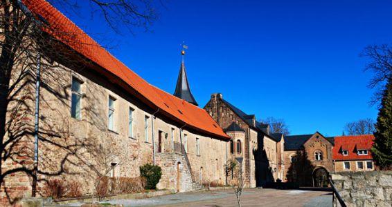 Kloster Ilsenburg - der Innenhof