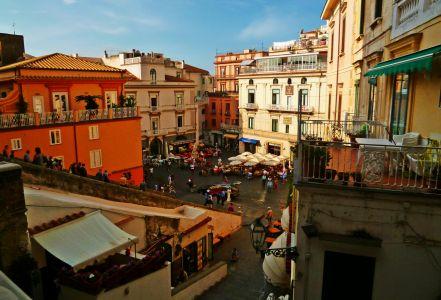 Amalfi: Marktplatz
