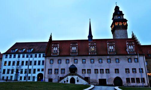 Das Rathaus von Zeitz
