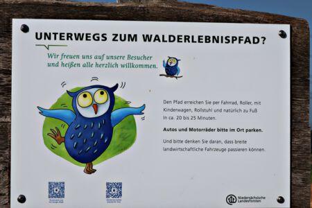 Der Walderlebnispfad Zweidorf