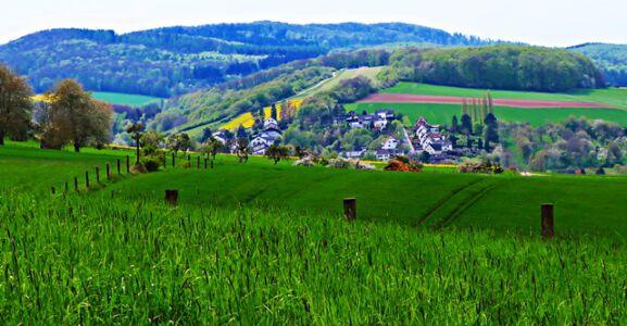 Landschaft bei Klein Düngen