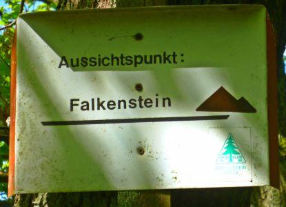 Aussichgspunkt Falkenstein