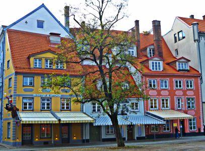 Riga: Marktplatz