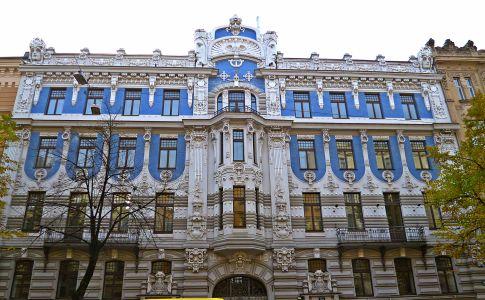 Riga: Jugendstilvillen