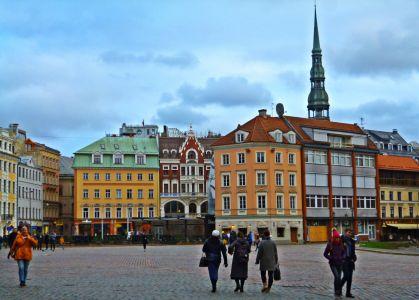 Riga: Rathausplatz