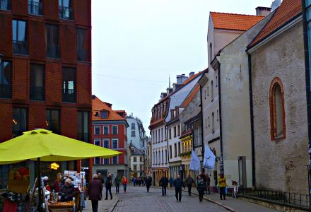 Riga:  Skārnu iela