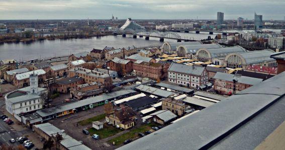 Riga: Blick auf die Stadt