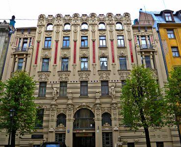 Riga: Jugendstilvilla