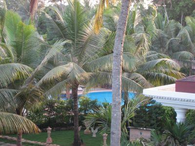Goa: Blick aus dem Hotel