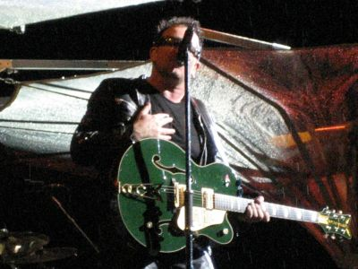 U2-Konzert: Close-up Bono