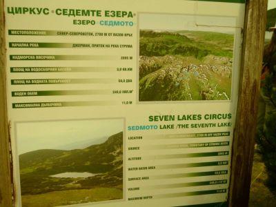 Sieben-Seen-Wanderung
