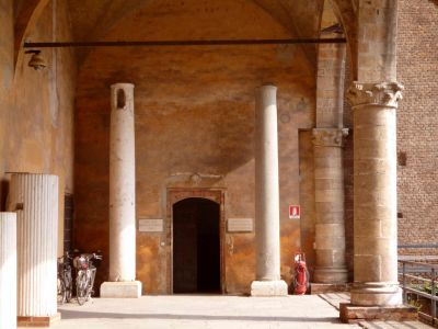 Castello Pavia_Innenhof