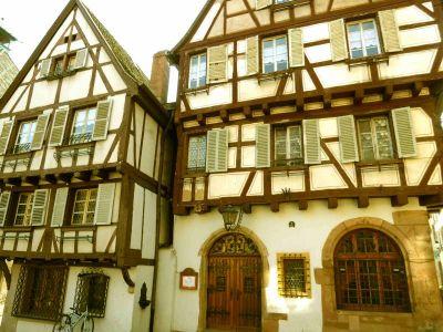 Colmars Fachwerkhäuser_3