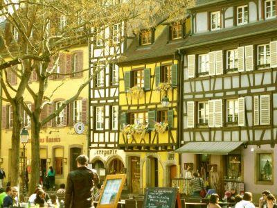 Spaziergang durch Colmar: Gerberviertel