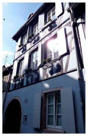 Colmars Fachwerkhäuser