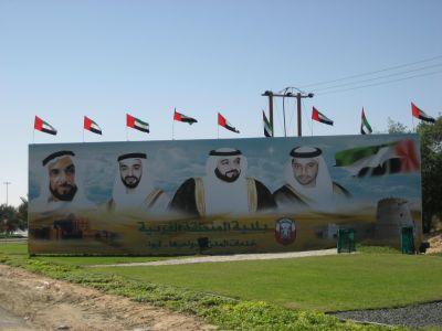 Die Sheikhs der Emirate