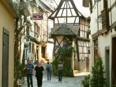 Eguisheim an der Route du Vin