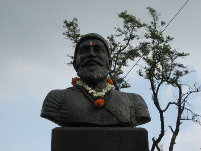 Feldherr am Purandar Fort